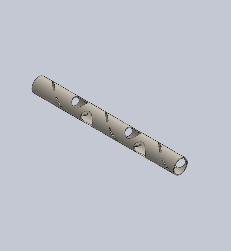 charge carrier tube